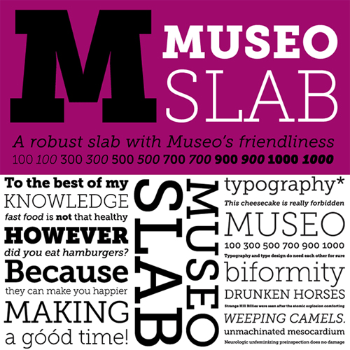 6 Slab Serif Fonts Images