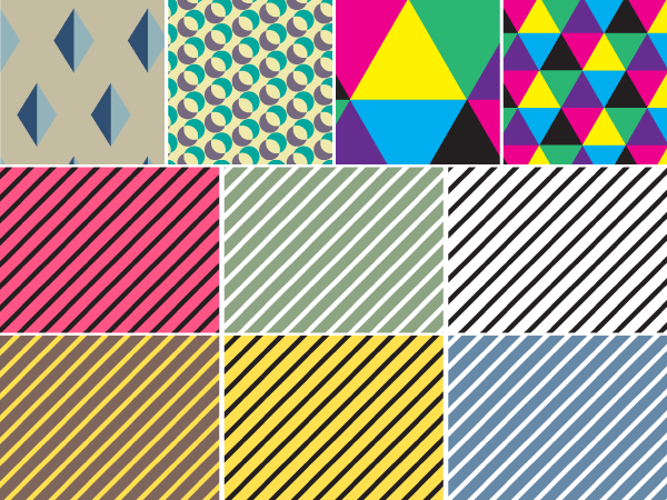 Free Vector Geometric Seamless Pattern
