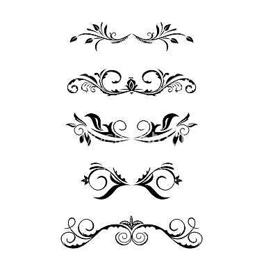 Free Vintage Borders Vector Art