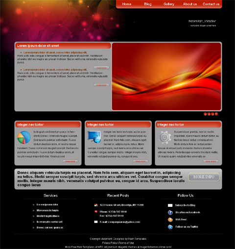 Free Web Page Design Templates