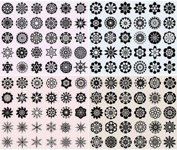 11 Photos of Geometric Vector Patterns