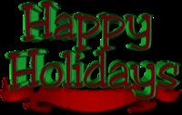 Happy Holidays PSD