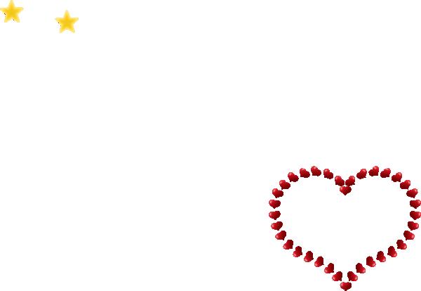Heart Shaped Border Clip Art