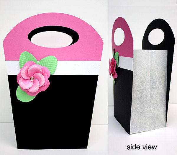 How to Make Paper Gift Bags Template