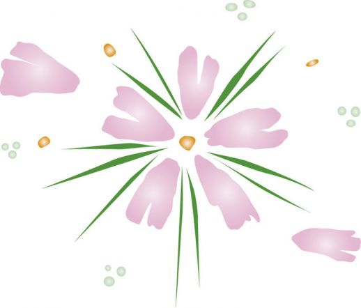 Japanese Flower Vector
