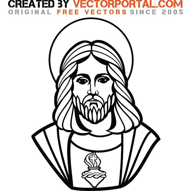 13 Jesus Christ Vector Art Images