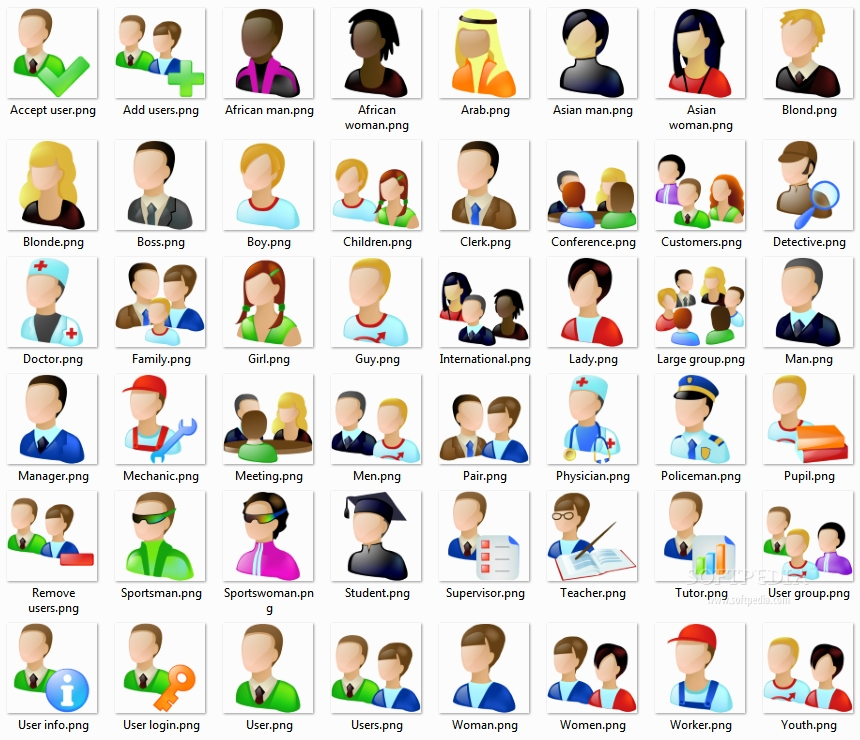 15 Job Icon Set Images