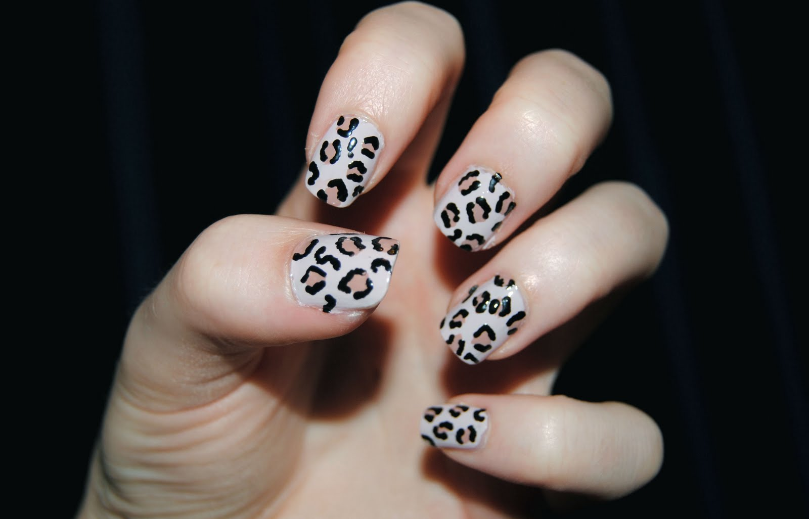 Leopard Print Nails Easy