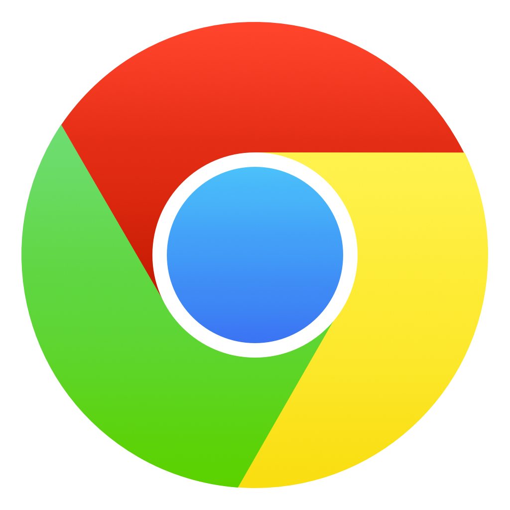 9 Chrome Icon White Images
