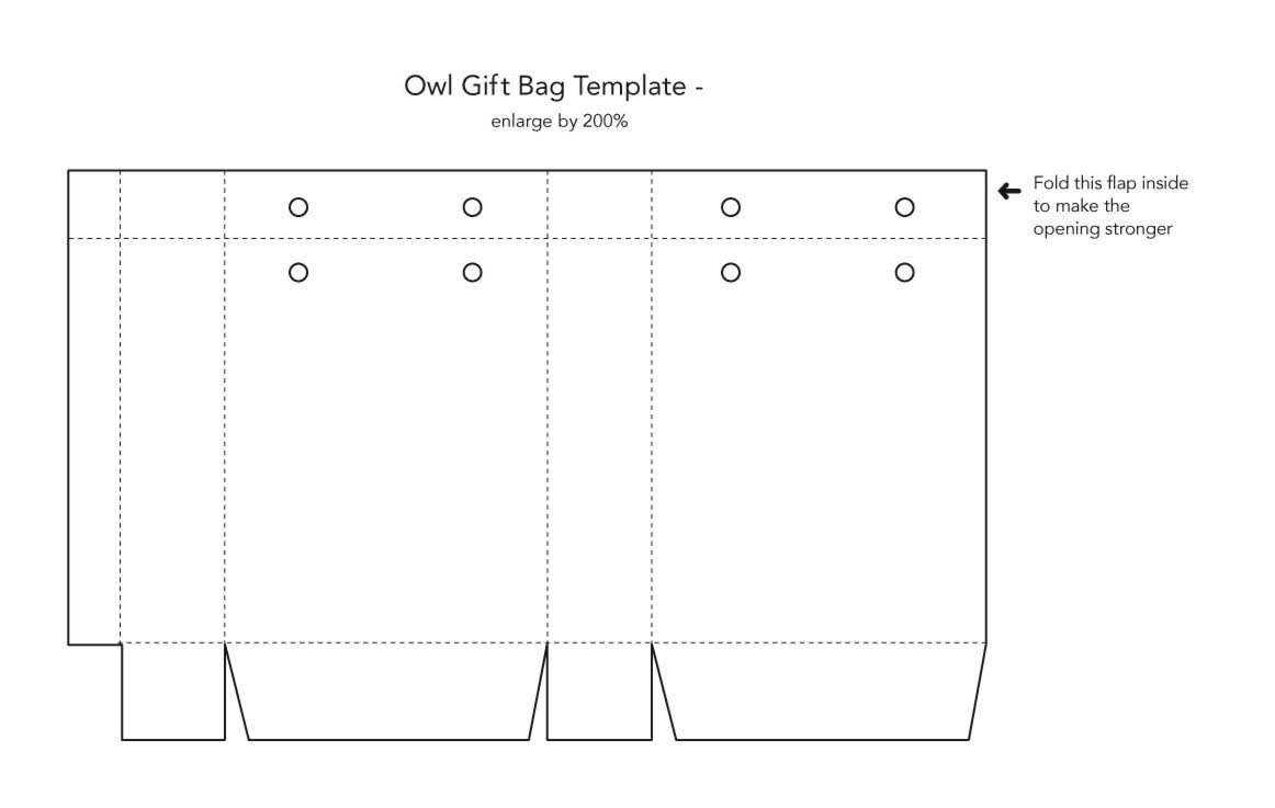 13 Templates For Goodie Bags Images