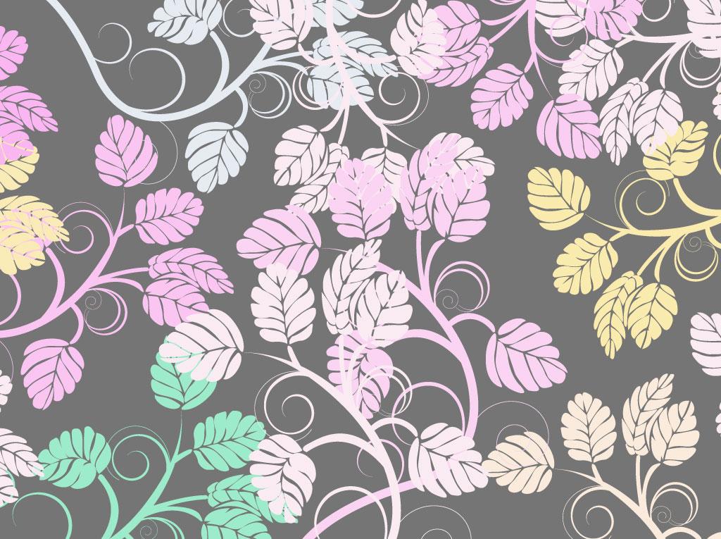 Pastel Nature Pattern