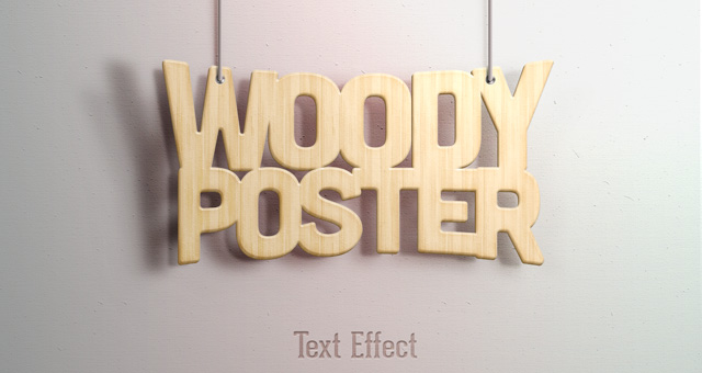 14 Free Text Effects PSD Templates Images