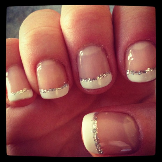 Pretty French Tip Nails