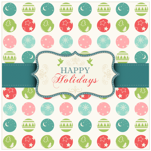 8 Happy Holiday PSD Images