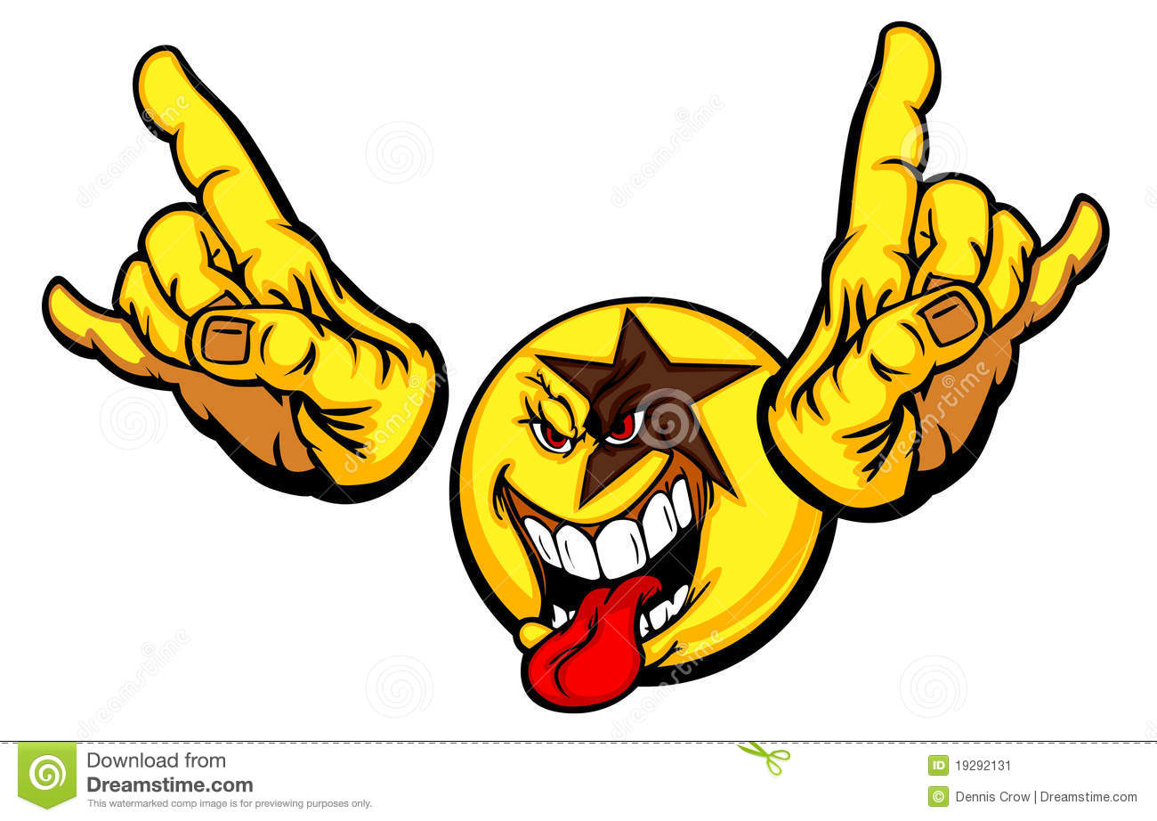 5 You Rock Animated Emoticons Images