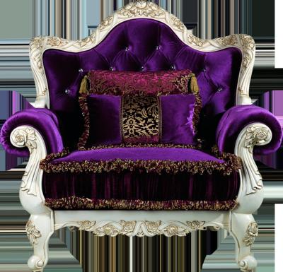 Royal Queen Throne Chair
