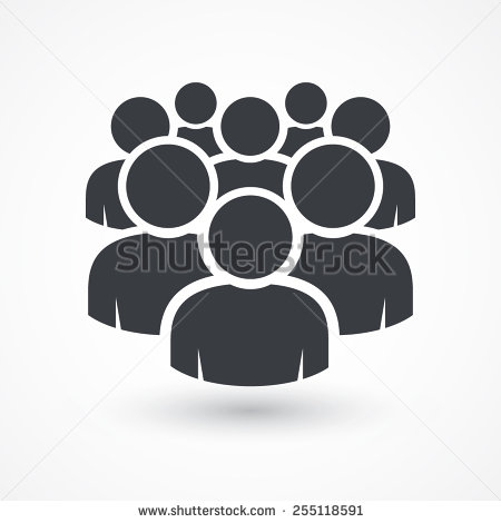 Social Person Icon Silhouette
