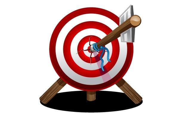 Target Arrow Graphic