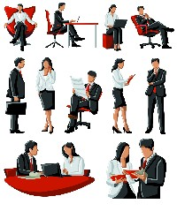 Vector Business People