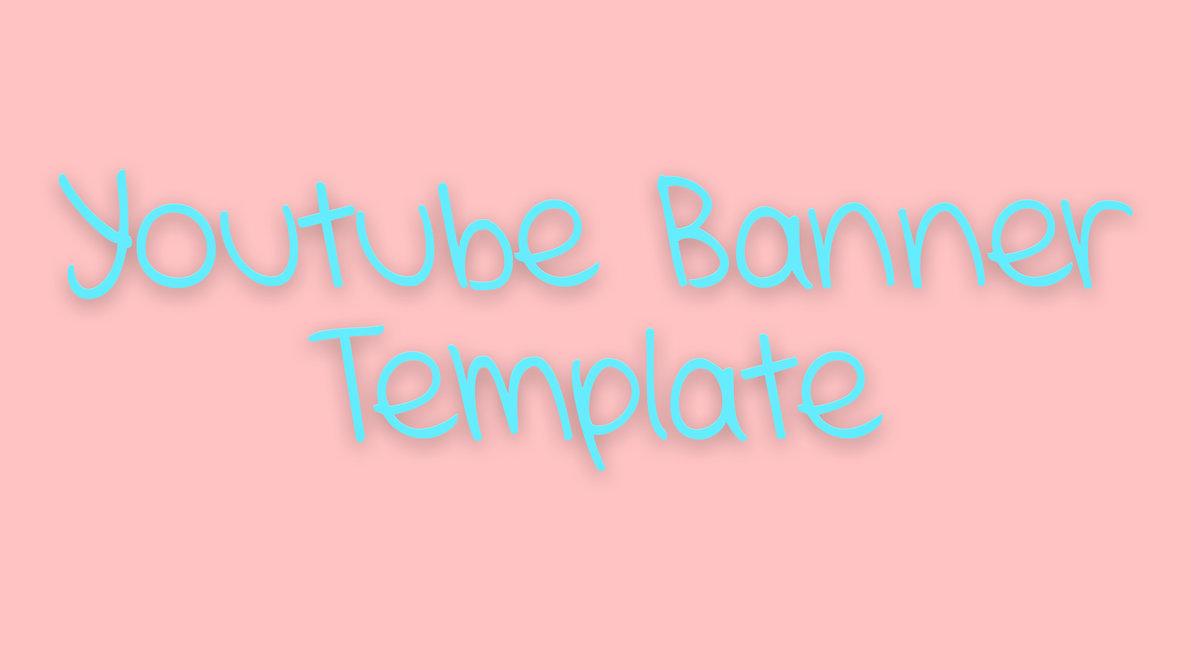 Tumblr YouTube Banner Template
