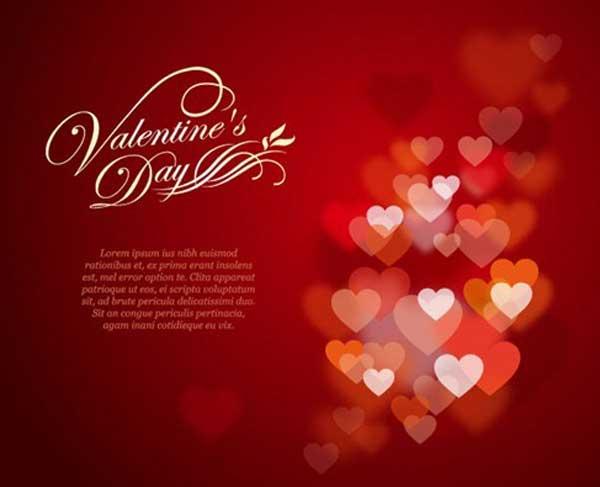 Vector Background Free Valentine's Day