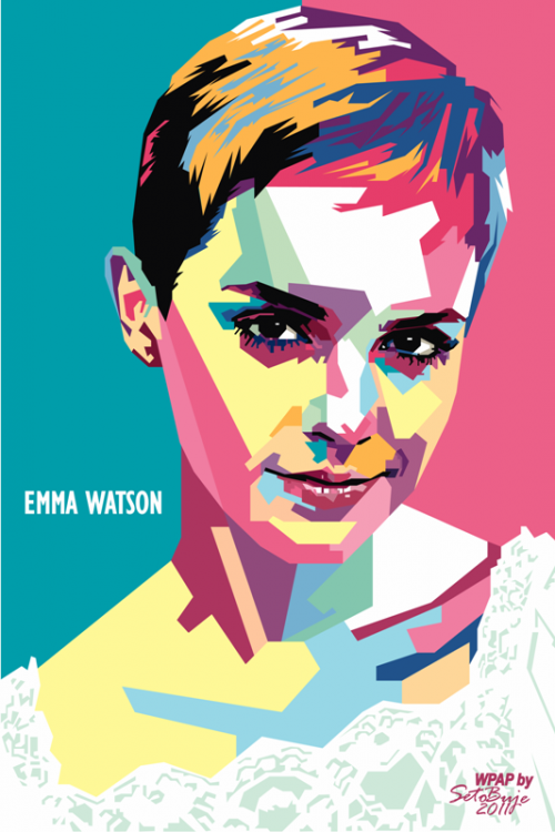 14 Simple Celebrity Vector Art Portraits Images