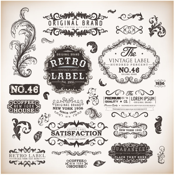 Vintage Border Vector Free Download