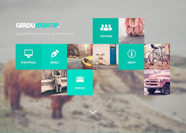 Website Mockup PSD