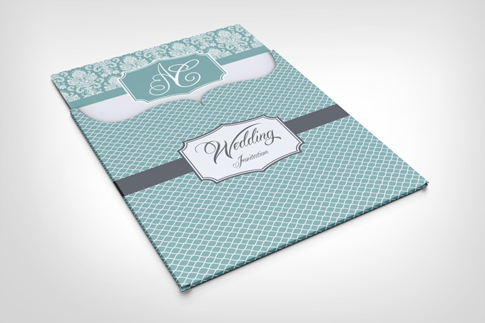 15 Wedding Invitation PSD Mockup Images