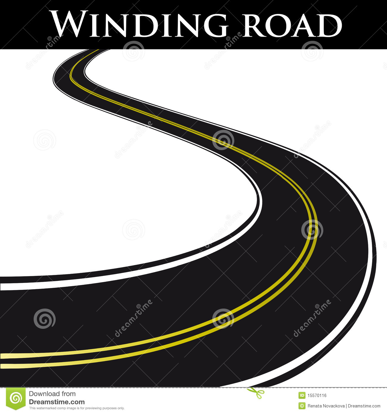 Winding Road Clipart 17 Road Vector Graphic...