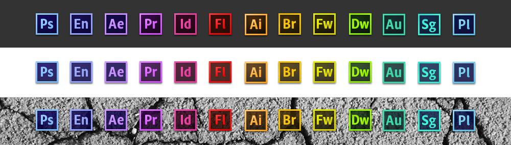Adobe CS6 Icons
