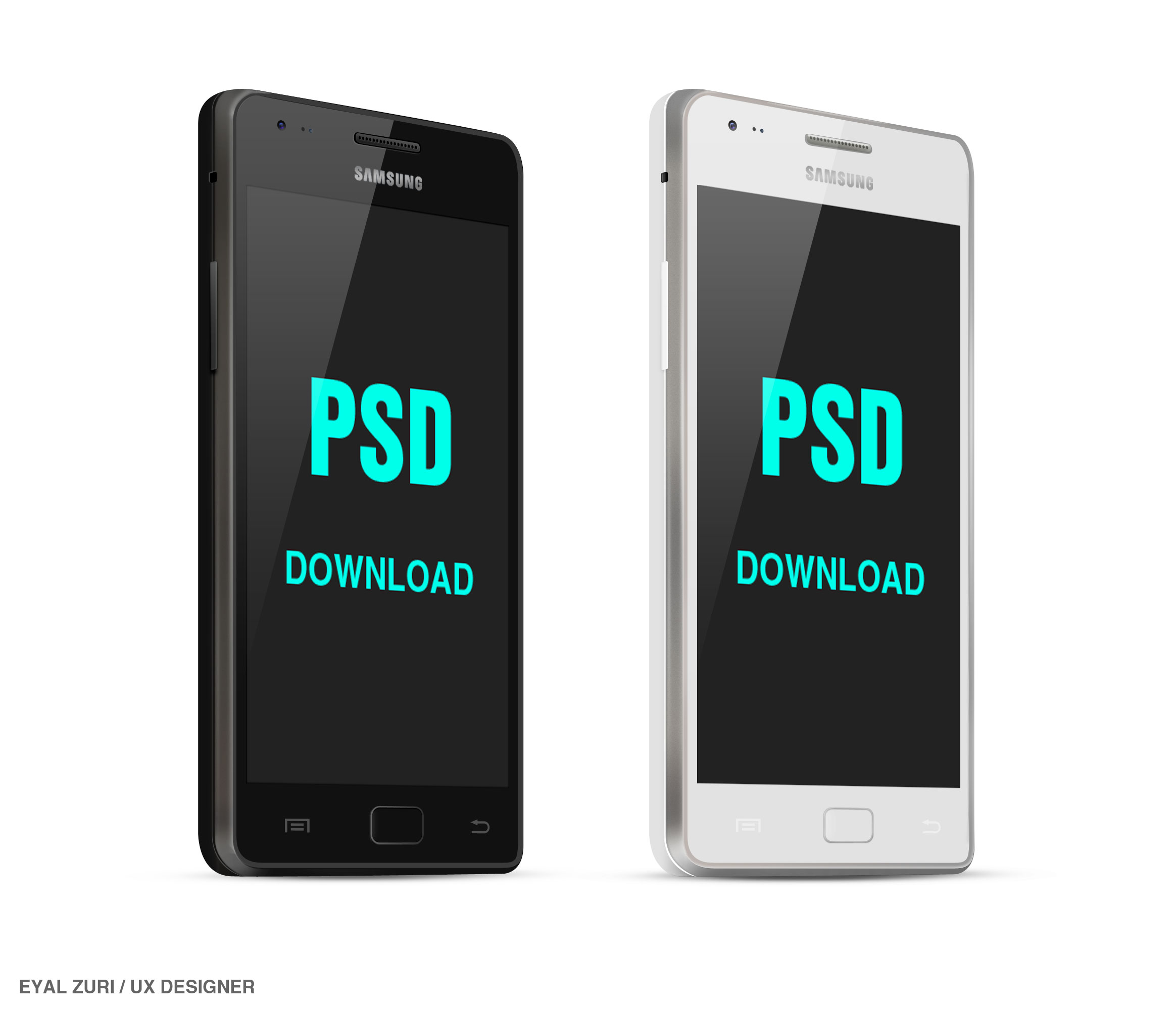 17 Android Phone PSD File Images