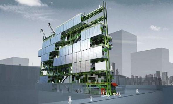 10 Building 3D Concept Design Images