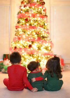 Baby Photography Christmas Tree