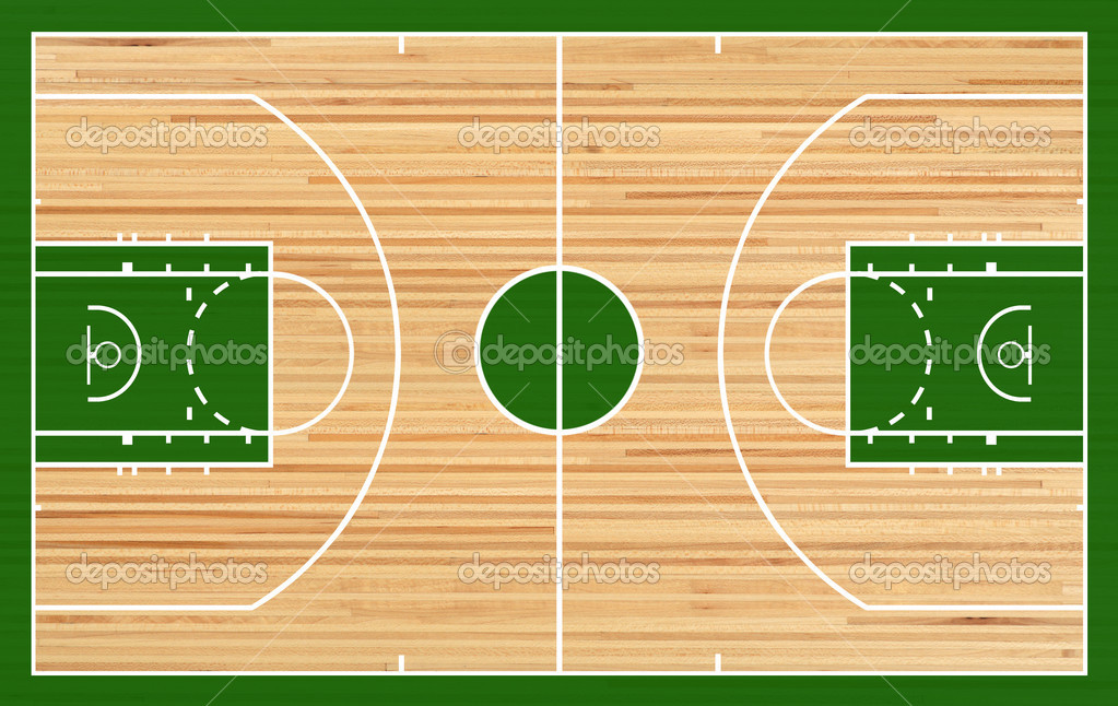 8 hardwood court psd images basketball court hardwood for Basketball floor plan