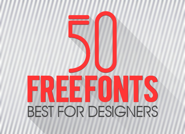 13 Best Free Fonts For Designers Images