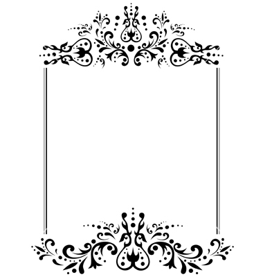 vintage black frame. Black White Vintage Borders And Frames Frame