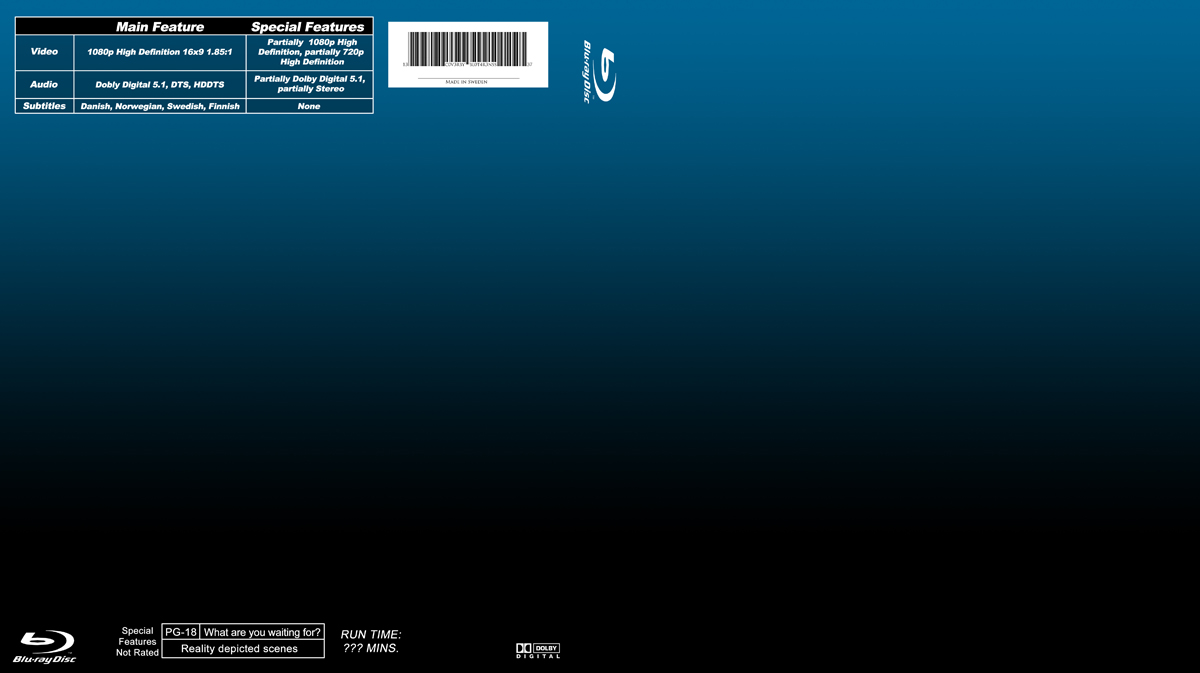 13 blu-ray cover template psd images