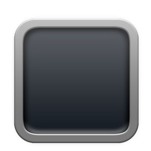 Blank iPhone App Icons