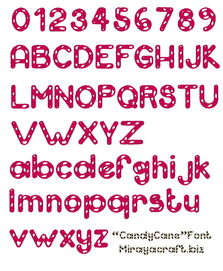 14 Red Candy Cane Font Free Images - Candy Cane Font Free