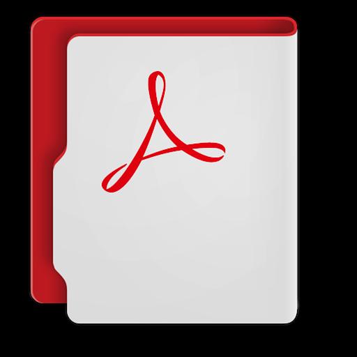CC Adobe Acrobat Icon
