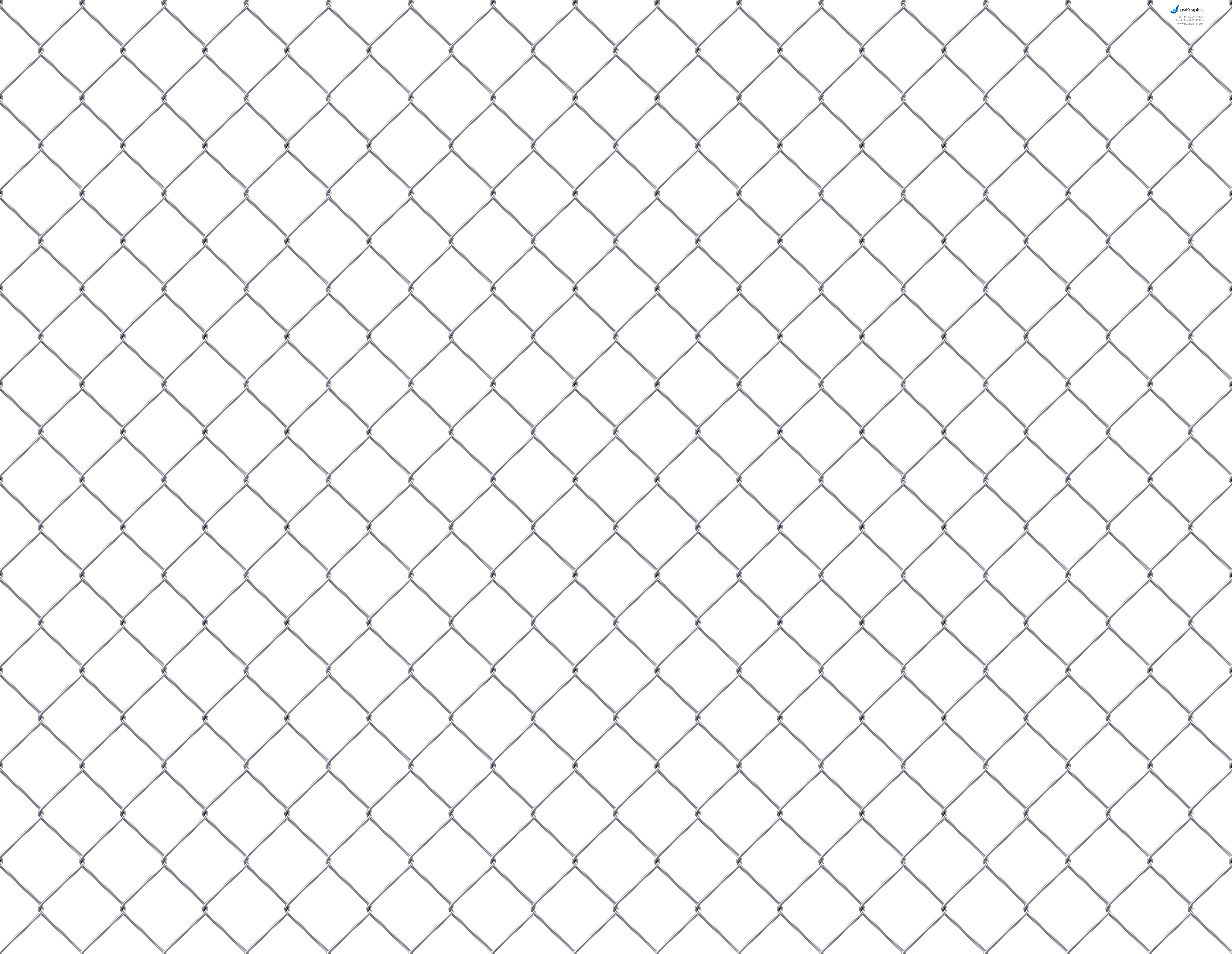 12 Chain-Link Fence PSD Images