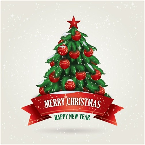 Christmas Cards Vector Design