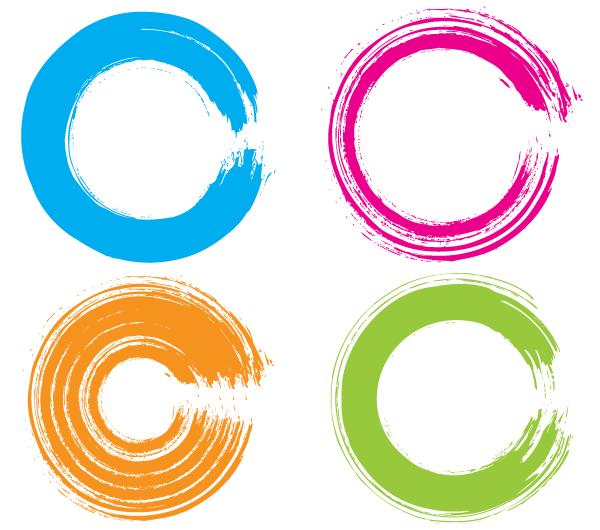 14 Free Vector Circle Emblem Images