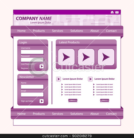 Corporate Website Button Designs