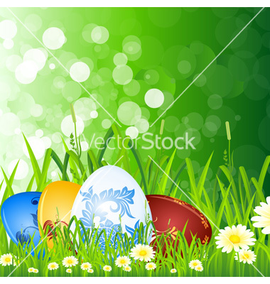 Easter Egg Grass