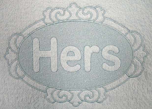 Embossed embroidery monogram fonts images