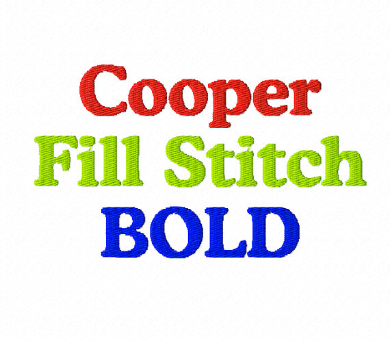 17 fill stitch machine embroidery fonts images
