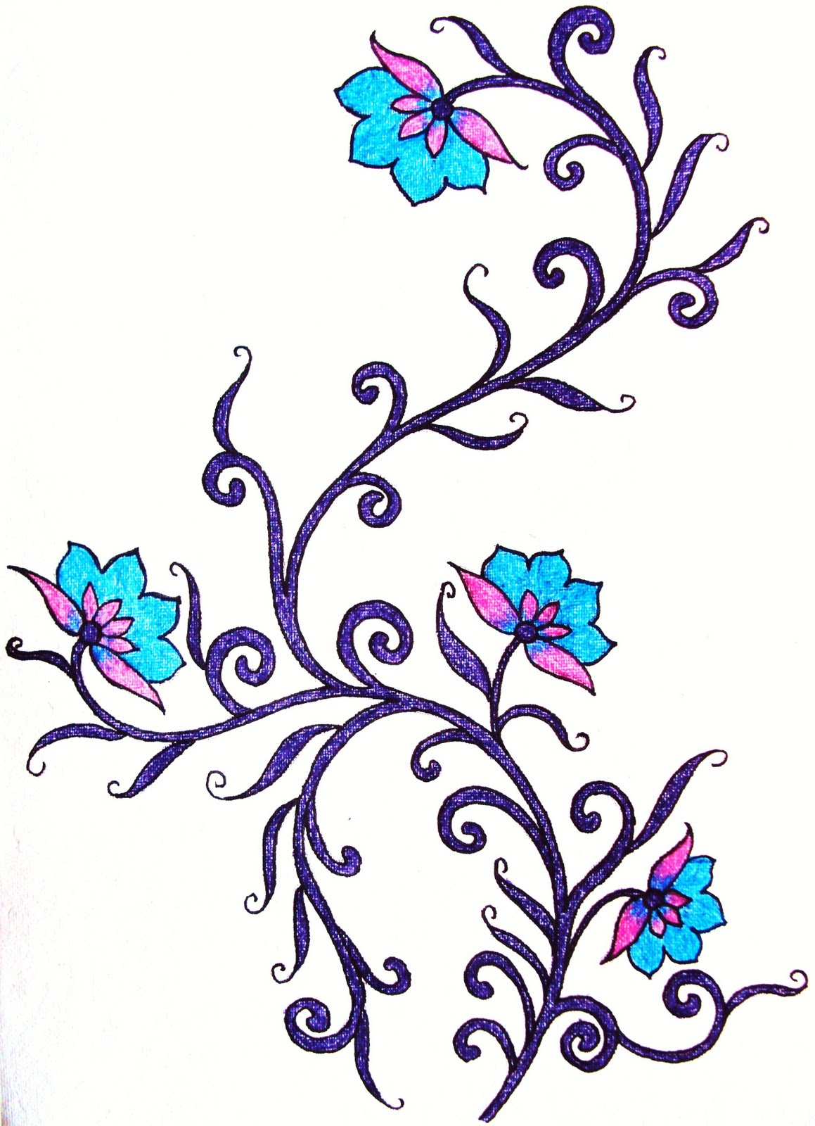 Flower Embroidery Designs Patterns
