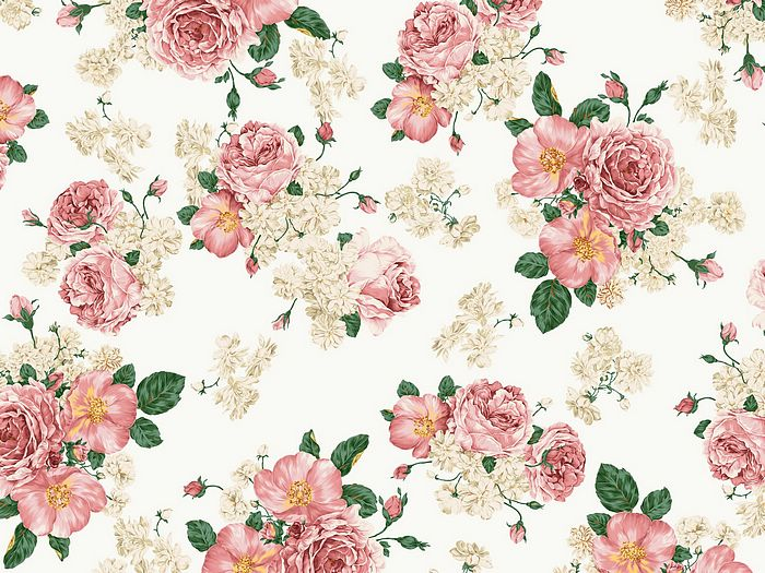 17 Flower Designs Patterns Images
